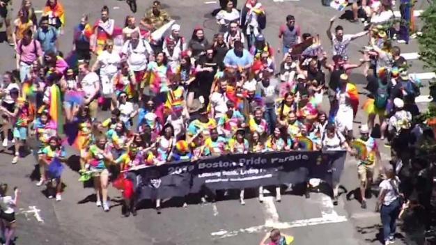 WATCH: Celebrating Boston Pride