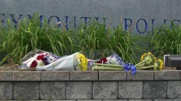 Mourners Pay Respects to Fallen Weymouth Officer