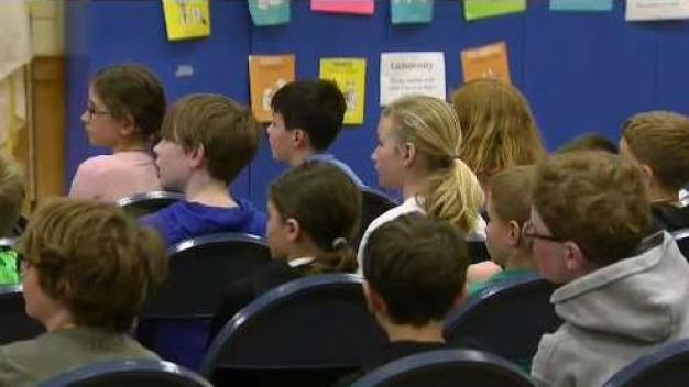 Deer Hill Elementary School Welcomes Weather Warrior