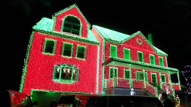 Elaborate Christmas Decorations on Display