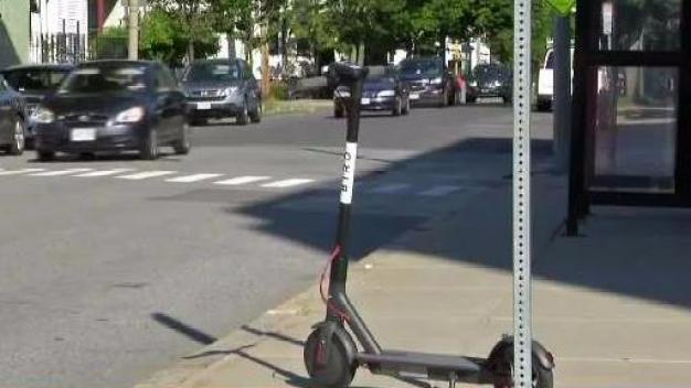 Electric Scooters Appear in Mass. Cities Thanks to New App