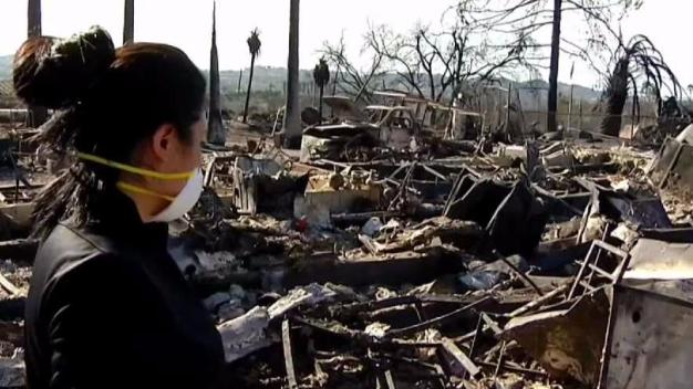 Family of Eight Sees Nursery Destroyed by Lilac Fire