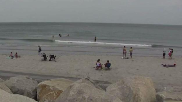 Hundreds Enjoy Hot Day at Nantasket Beach in Hull