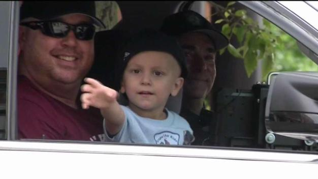 Gloucester Police Donate $5K to 3-Year-Old Battling Cancer
