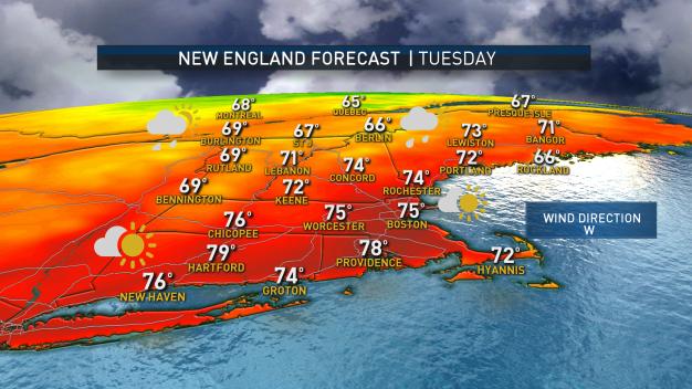 Cooler Temperatures Arrive Ahead of Gradual Warming Trend