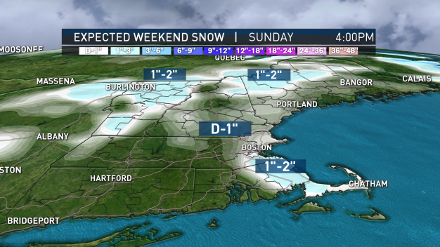 Snow Possible for Some This Weekend