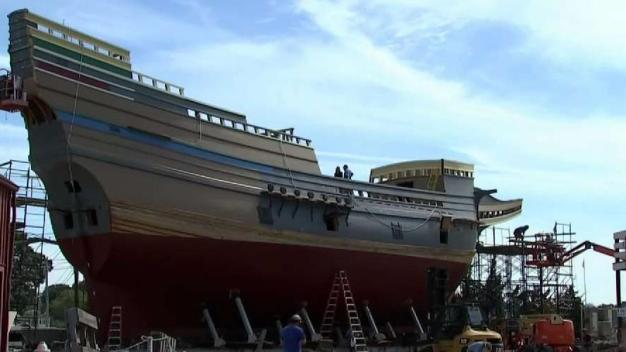 Uniquely New England: Mayflower II's Restoration Nears Completion