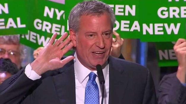 Mayor Bill de Blasio Campaigns in NH