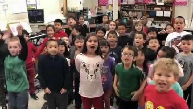 NBC10 Boston Visits Washington Elementary School