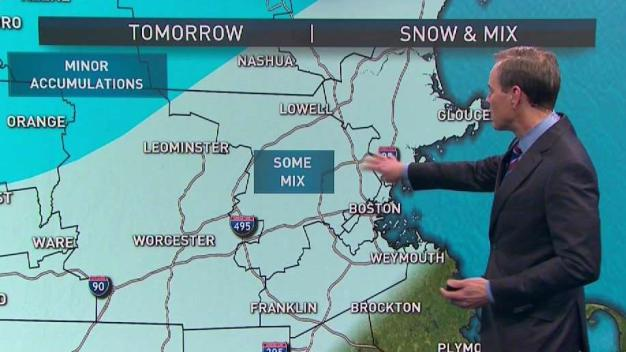 Weather Forecast: Snow and Chilly Rain Return on Thursday