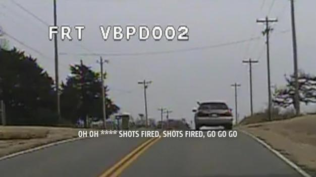 Cameras Capture Terrifying Police Chase
