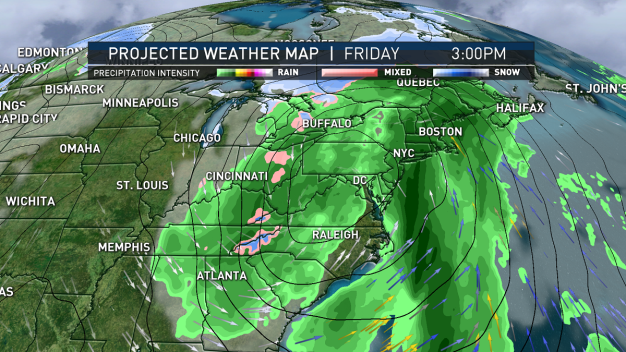 Chilly Temps and Wind for Now, Storm Approaching Friday