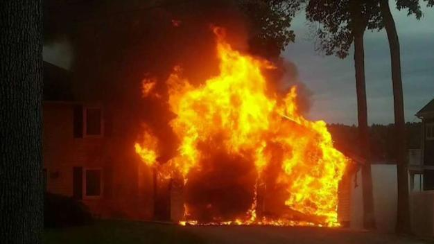 One Firefighter Taken to Hospital in Sterling House Fire