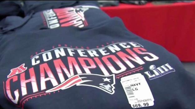 Patriots Fans Gear Up Ahead of Super Bowl