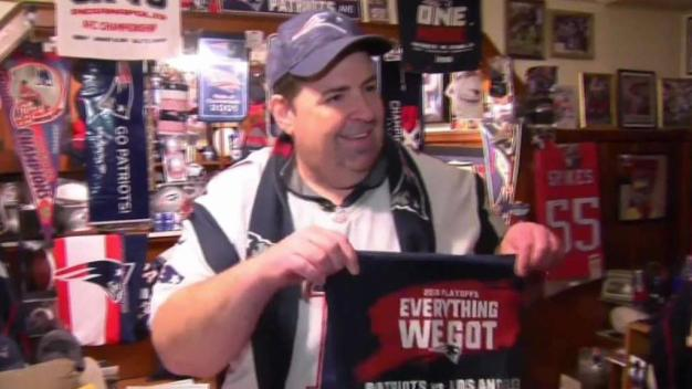 Die-Hard Patriots Fans Gearing Up for AFC Championship