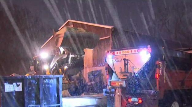 Preparations in Place in Leominster for Snowfall