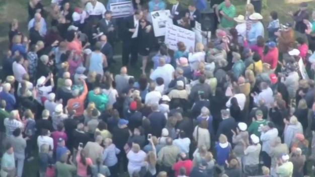 Protesters Call for Resignation of Controversial Judge