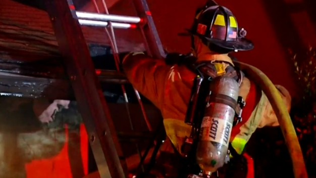 1 Injured in 2-Alarm Fire in Manchester, New Hampshire