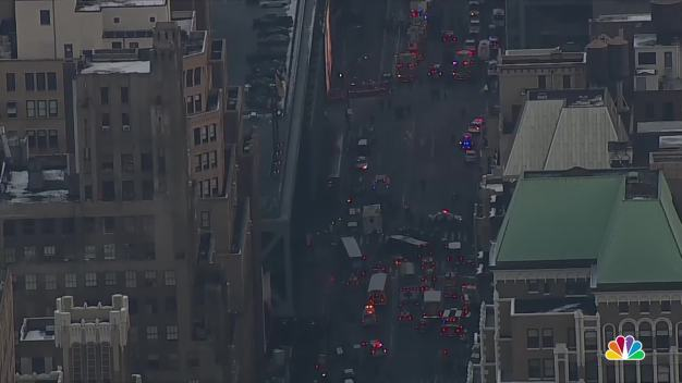 Scenes From the Ground: Commuters Evacuated After Explosion Rocks Major Transit Hub