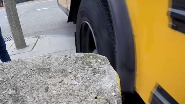 Too Close for Comfort: School Buses Squeak by Dorchester Property