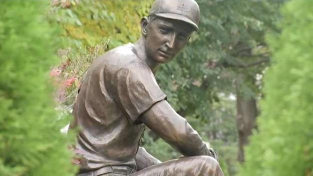 Red Sox Fan Celebrates Dodgers Great Sandy Koufax