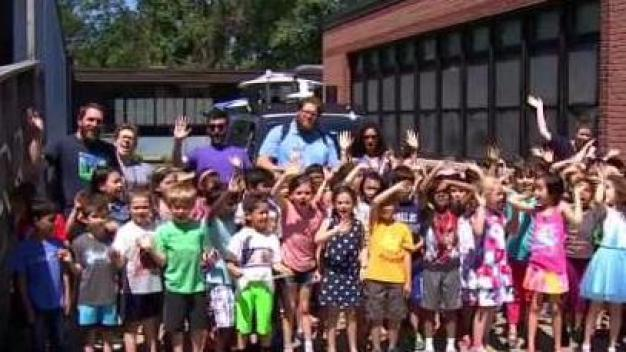 Weather Warrior Visits Countryside Elementary School