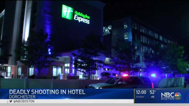 Man Found Shot to Death in Boston Hotel