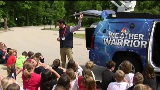 Weather Warrior Visits East Elementary School