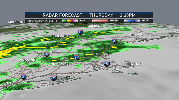 Heavy Rain Returns Thursday