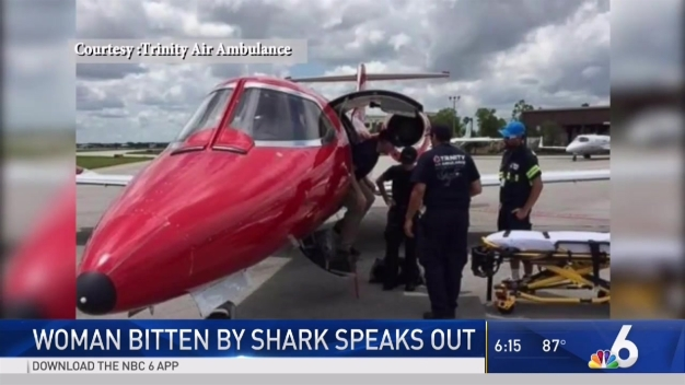 Woman Speaks About Bahamas Shark Bite