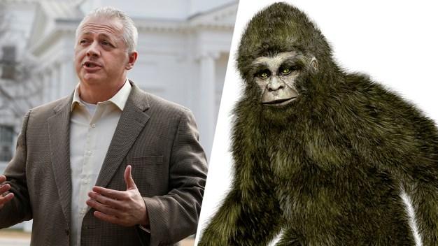 Bigfoot Lumbers Into Virginia Congressional Race