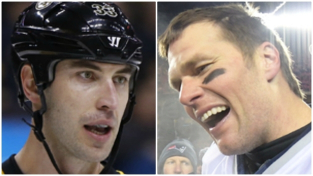 Chara Wants Brady at TD Garden for B's-Blue Jackets Series