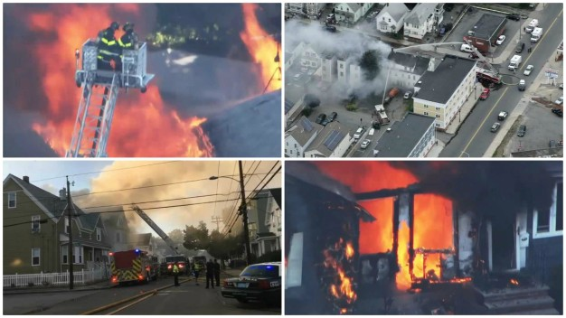 Deadly Gas Explosions in 3 Mass. Towns Leave 1 Dead