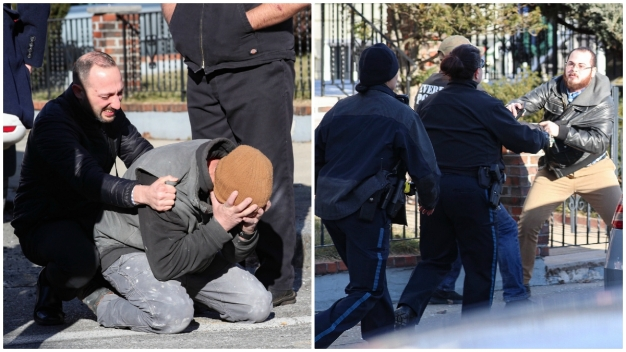 Emotional Images From Scene of Fatal Everett Shooting