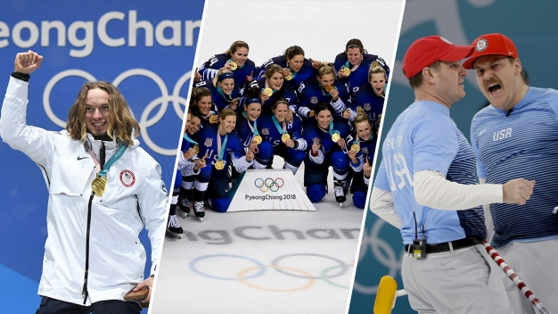 Golden: Watch Every US Gold Medal Performance