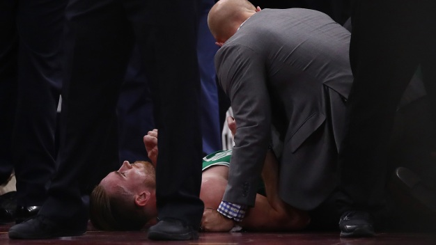 Athletes, Fans React to Hayward's Gruesome Injury