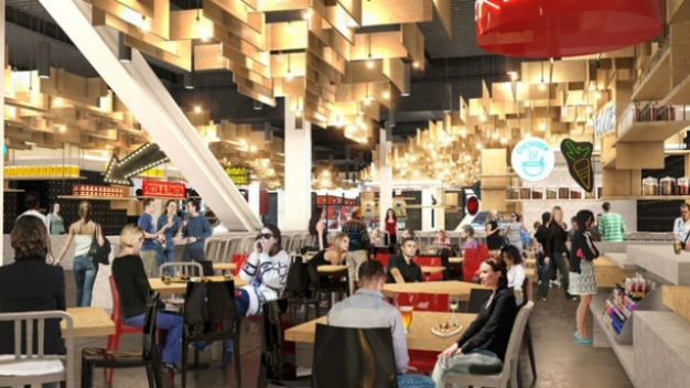 New Food Hall With 18 Dining & Drink Options Opening in Boston?
