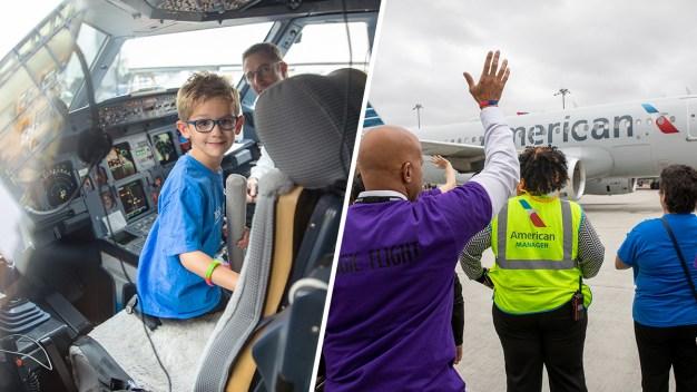 Boy With Eye Cancer Gets Disney Trip Send-Off Party at Boston Logan