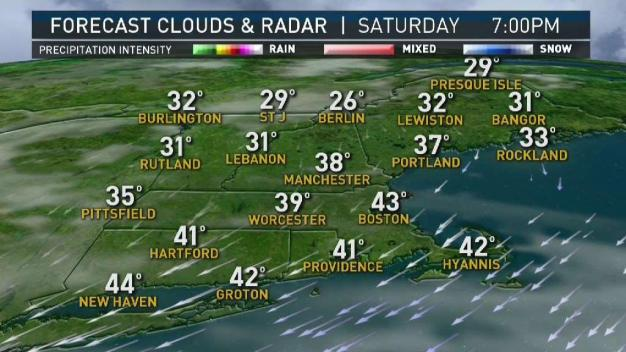 Active Weather Returns to New England