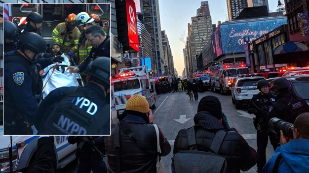 Rush-Hour Explosion Near Major NYC Transit Hub