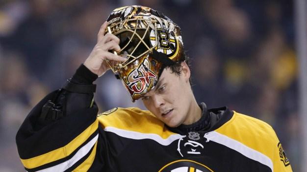 Bruins Goalie Tuukka Rask Returns to Practice After Leave