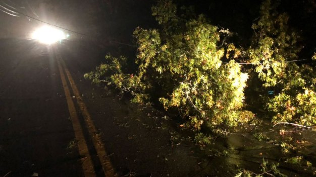FIRST ALERT: Storms Slam Southern New England, Knock Out Power
