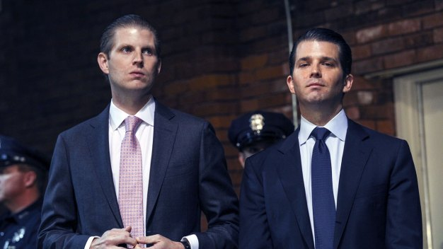 Trump Sons Take Helm of Company