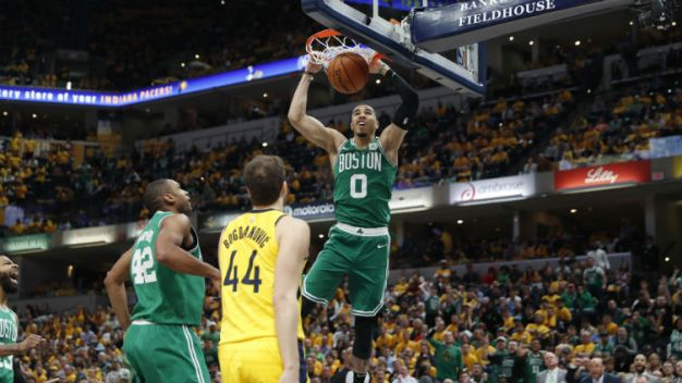After Pacers Sweep, Celtics Declare They're a Changed Team