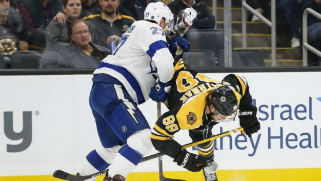 Talking Points From the Bruins' 4-3 Shootout Loss to the Lightning