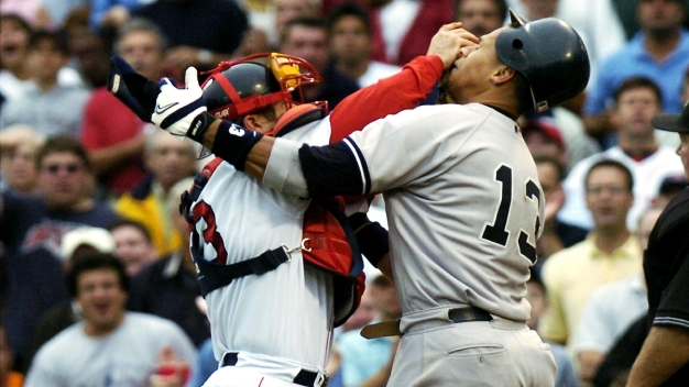 The Brawl: 15 Years Later, New Details Emerge About Varitek, A-Rod Fight