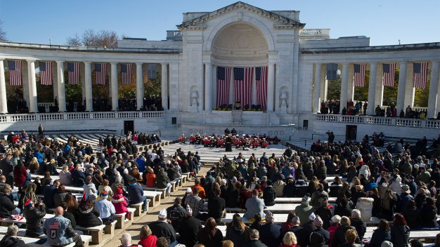 Trump Says He Should Have Gone to Arlington on Veterans Day
