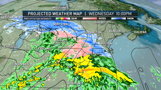 Hour-by-Hour Breakdown of Upcoming Winter Storm