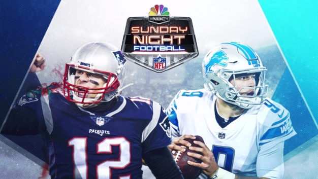 How to Watch Patriots-Lions on Sunday Night Football