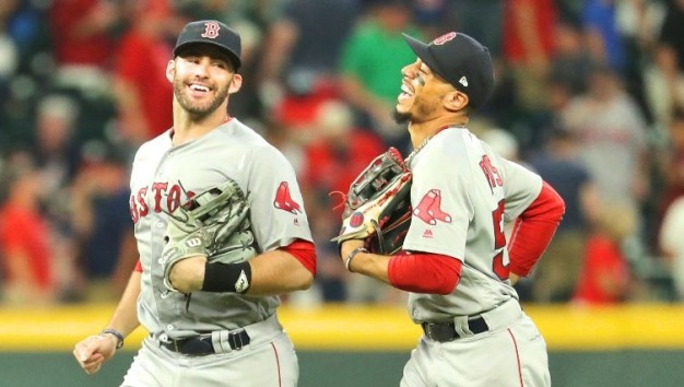 There Can Be Only One: Why It Makes More Sense for Red Sox to Keep J.D. Martinez Than Mookie Betts